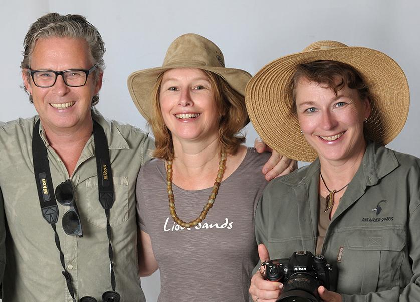 Das Team vom Reisebüro Henning von Daacke Hamburg